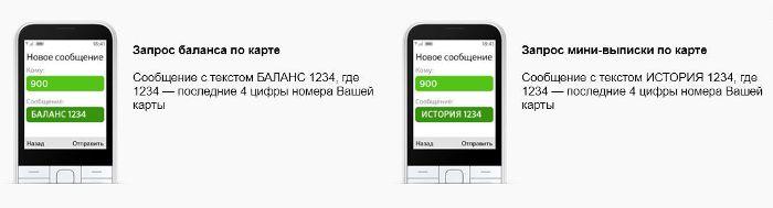Короткие СМС-команды Сбербанка